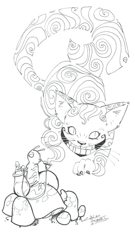 462x800 Cheshire Cat Coloring Pages Cat Coloring Pages Kitty Cheshire