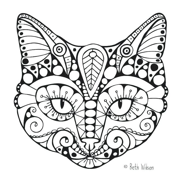 640x640 Coloring Page Cat Amazing Free Cat Coloring Pages For Seasonal