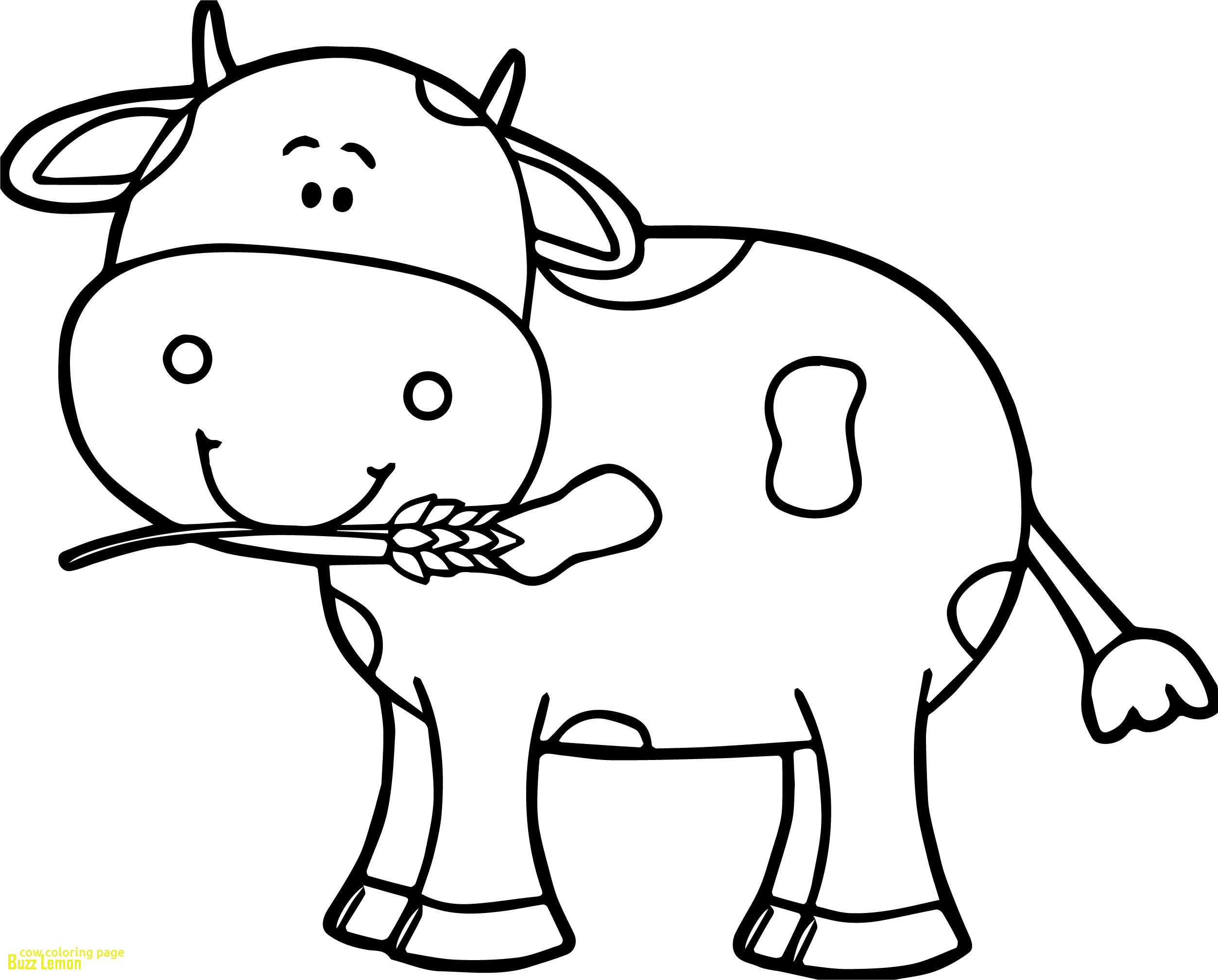 2507x2018 Reduced Coloring Page Of A Cow New Buzz