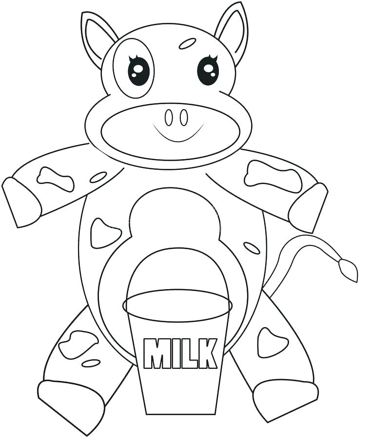 757x900 Cows Coloring Pages