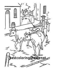 236x288 Elegant Cattle Drive Coloring Pages Best Coloring Pages