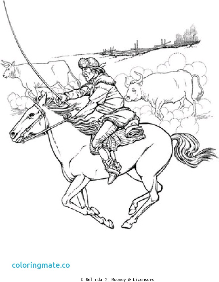 736x949 Texas Coloring Pages Fresh Cattle Drive Coloring Pages