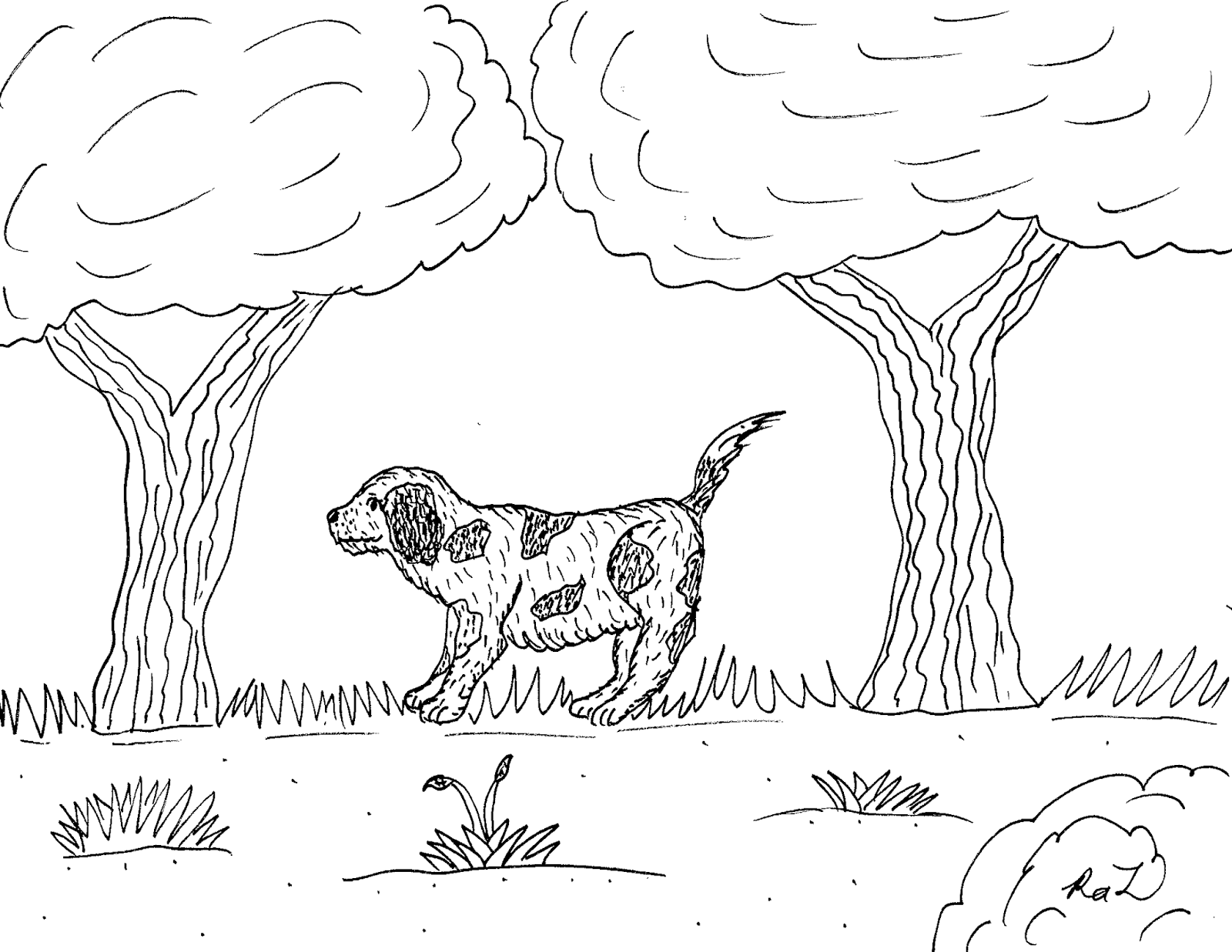 1600x1237 Robin's Great Coloring Pages Cavalier King Charles Spaniel