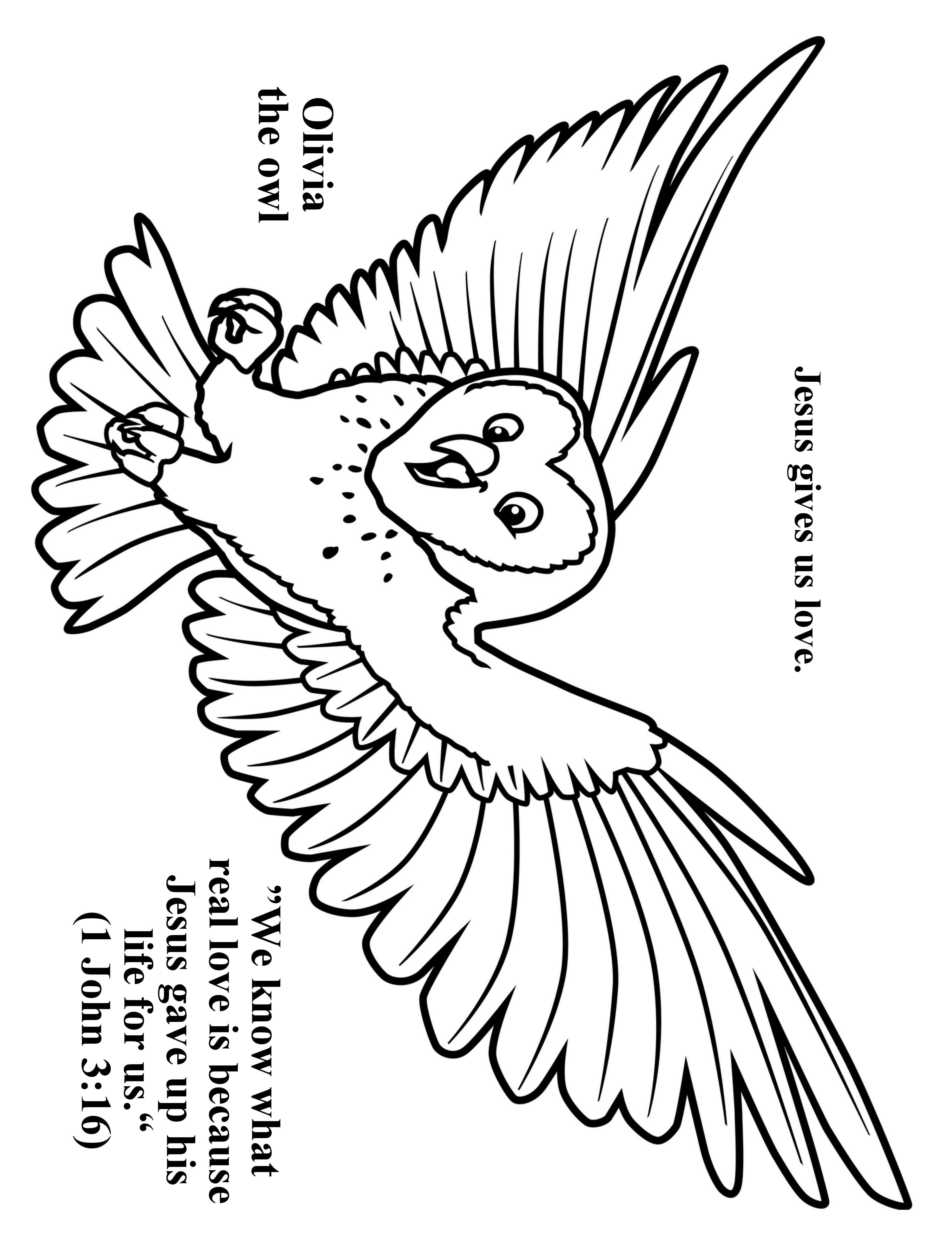 3952x5120 Cave Quest Day Preschool Coloring Page Olivia The Owl Cave
