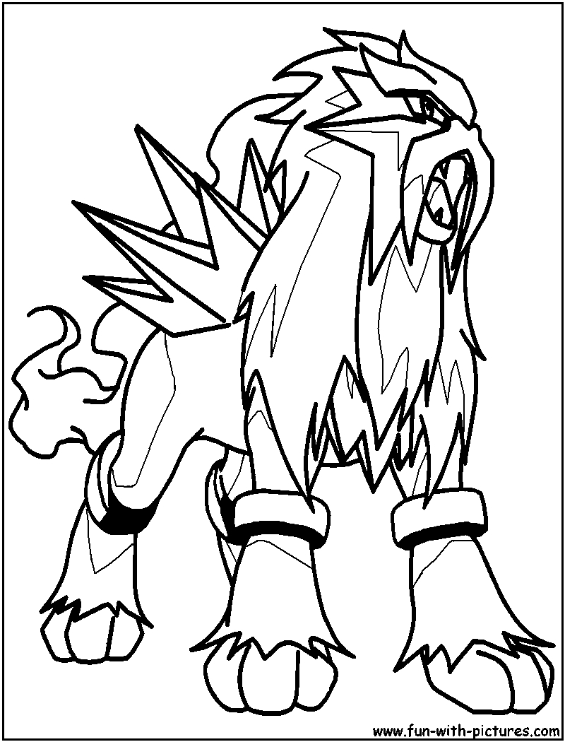 800x1050 Easy Pokemon Coloring Pages Houndoom Dynamic T