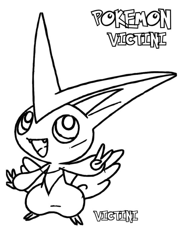 600x776 Pokemon Black And White Coloring Pages