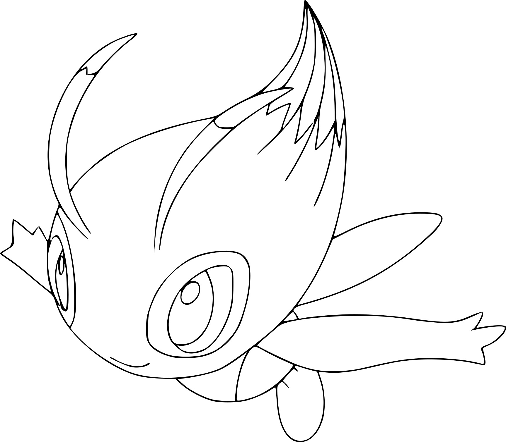 1727x1511 Celebi Coloring Pages To Print Coloring For Kids
