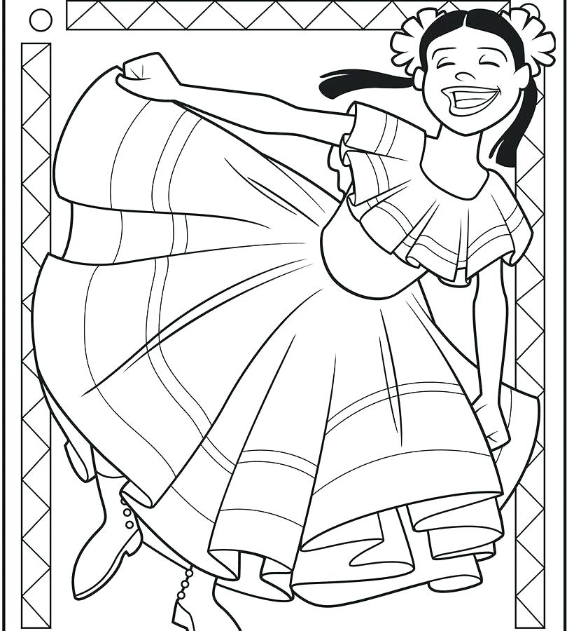 810x900 Pinata Coloring Page Pinata Coloring Page Mayo Celebration
