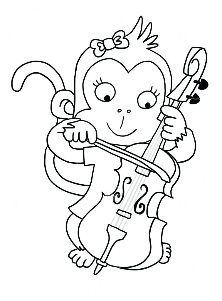 756x1024 Cello Coloring Page First Aid Coloring Pages Free For Kids Free