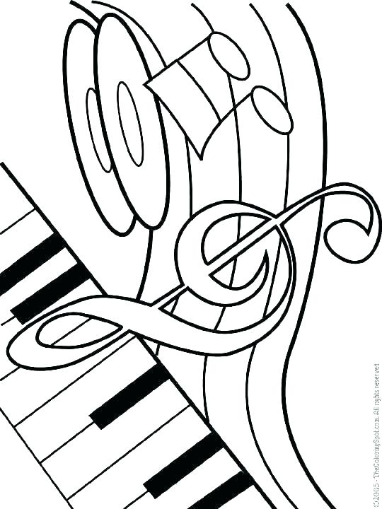 540x720 Music Notes Coloring Pages Music Colouring Sheets Musical Coloring