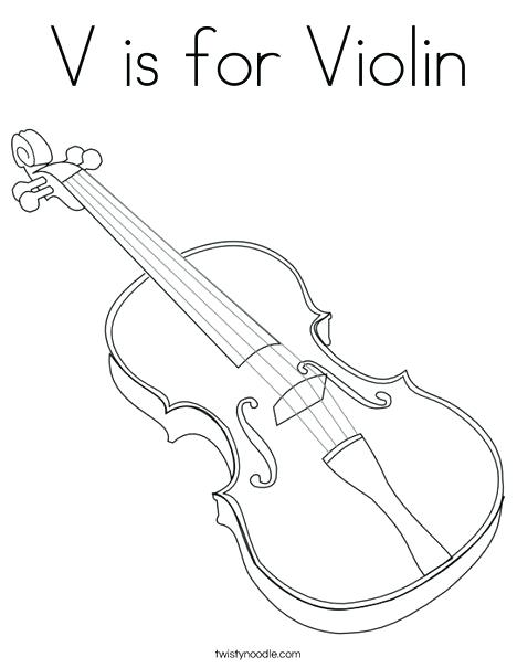 468x605 Cello Coloring Page As Cool Pin Drawn Violin Coloring Page Free