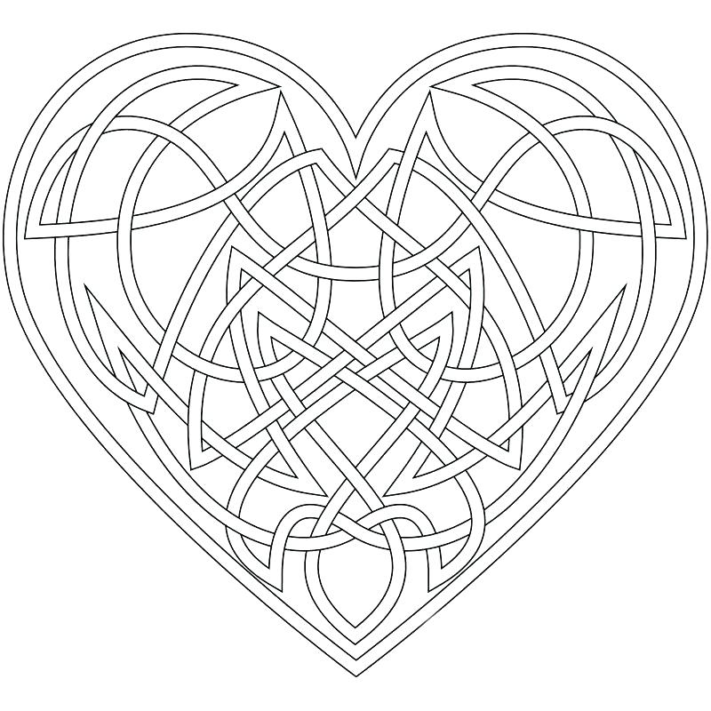 800x800 Celtic Coloring Pages Print Free Printable Celtic Designs Coloring
