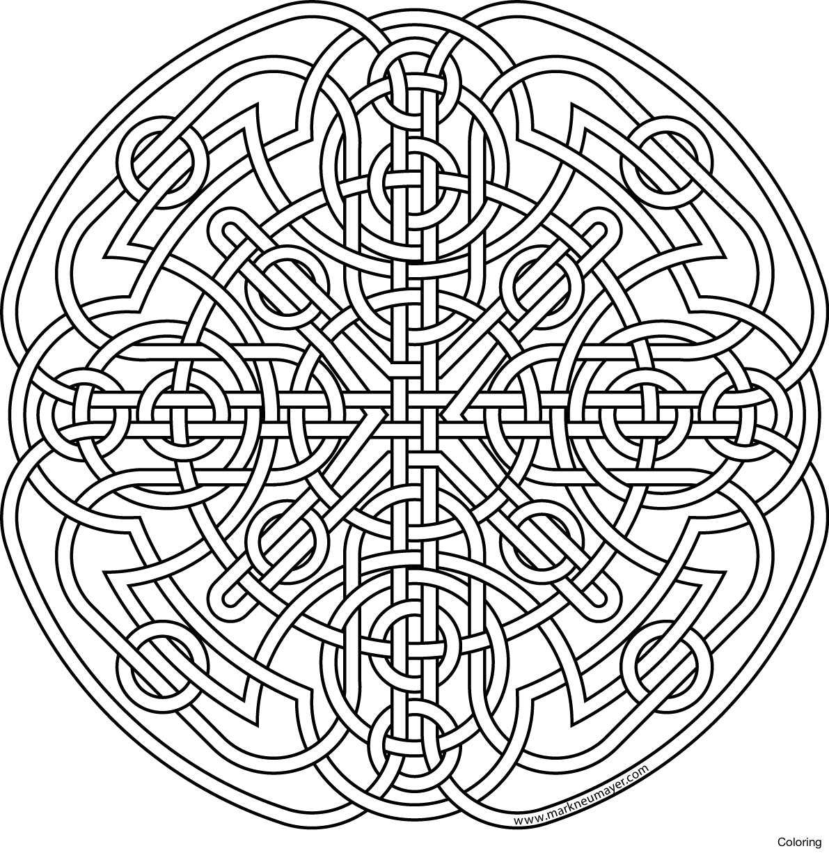 1191x1225 Celtic Coloring Pages For Adults Fresh Celtic Knot Coloring Pages