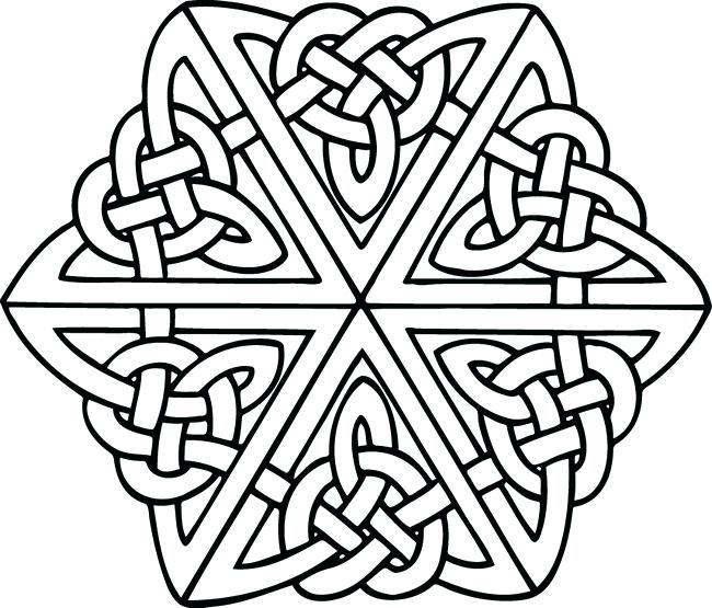 650x555 Celtic Patterns To Colour Celtic Designs Coloring Pages Plus Color