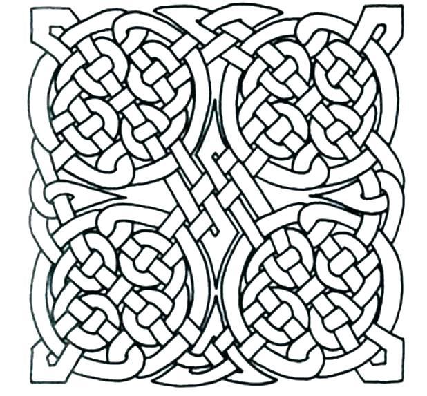 618x573 Celtic Coloring Book