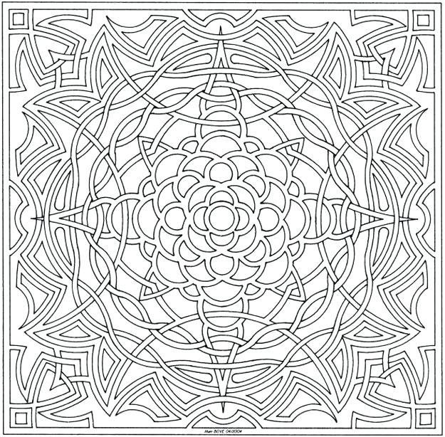 625x614 Celtic Coloring Pages For Adults