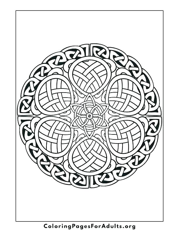 612x792 Celtic Coloring Pages For Adults Adults Color Pages Free Printable