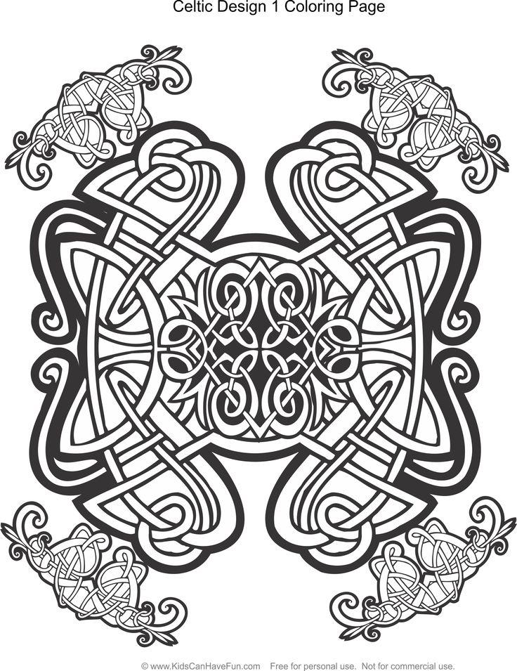 736x955 Mejores De Celtic Coloring Pages For Kids And Adults En