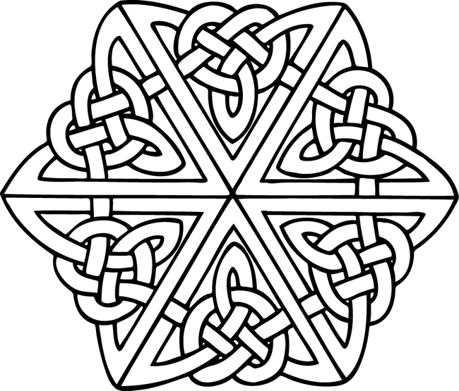650x555 Free Printable Celtic Designs Coloring Pages Adults Color Pages