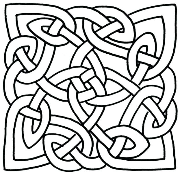 623x600 Celtic Coloring Pages Coloring Pages Knot Image