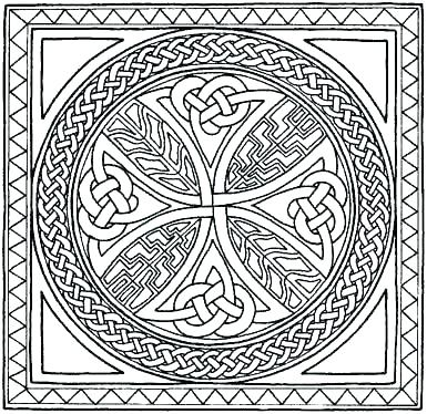 385x374 Celtic Coloring Pages Free Coloring Pictures Kids Coloring Knot