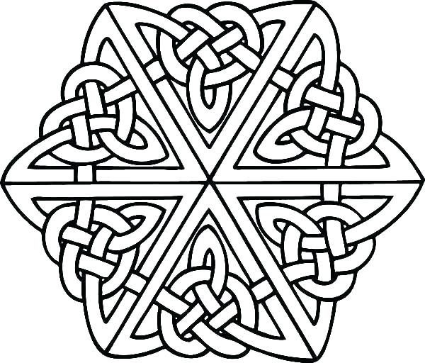 600x512 Celtic Knot Coloring Pages Coloring Page Mandala Coloring Pages