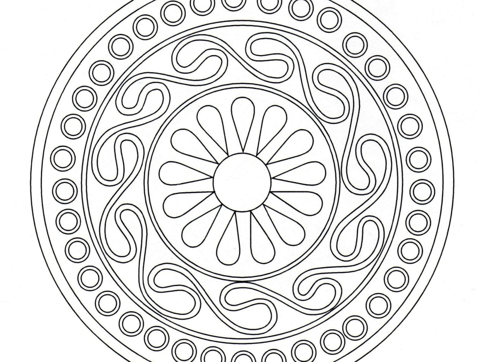 1600x1200 Elianwi Free Celtic Knot Coloring Pages Fine Printable Images Hd