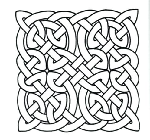 496x465 Celtic Knot Coloring Book Knot Coloring Pages Fashion Trends