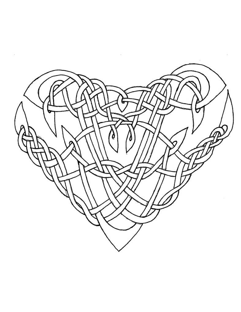 786x1017 Celtic Knot Coloring Pages