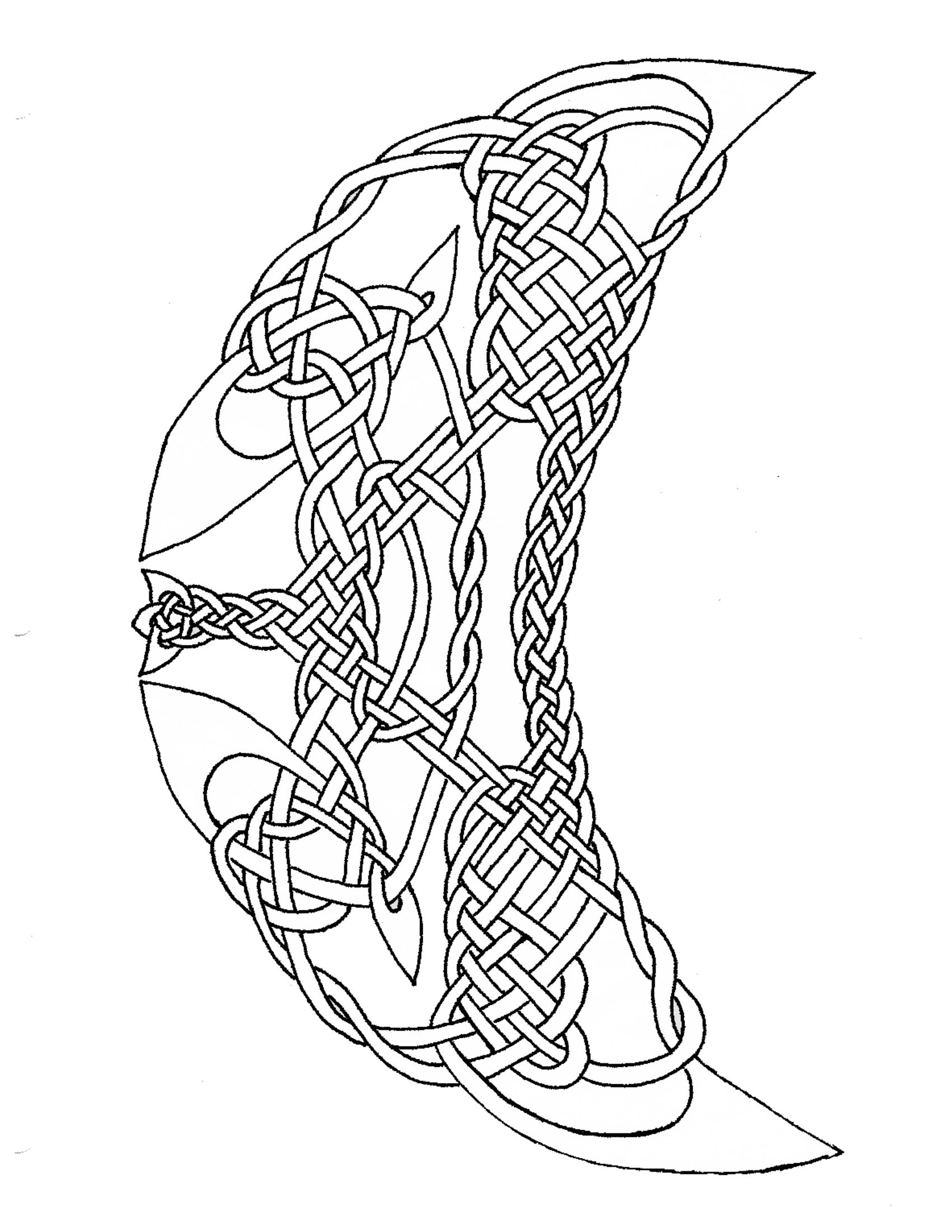 1700x2200 Celtic Moon Coloring Pages Get Coloring Pages To Print