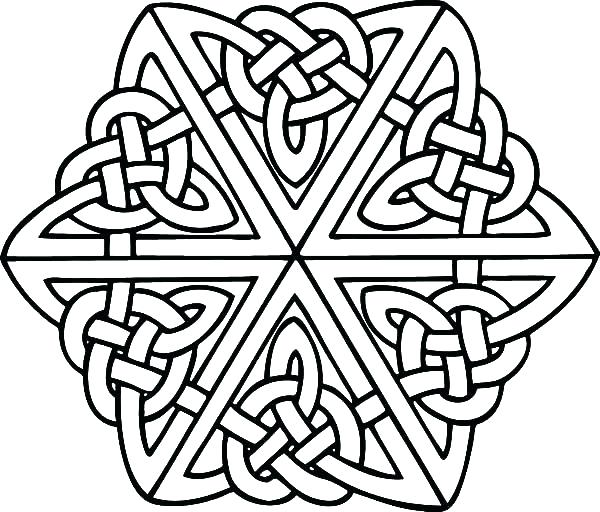 600x512 Celtic Cross Coloring Pages Coloring Pages Cross Coloring Pages
