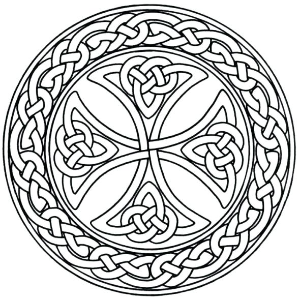 590x590 Celtic Knot Coloring Pages Knot Coloring Pages Printable