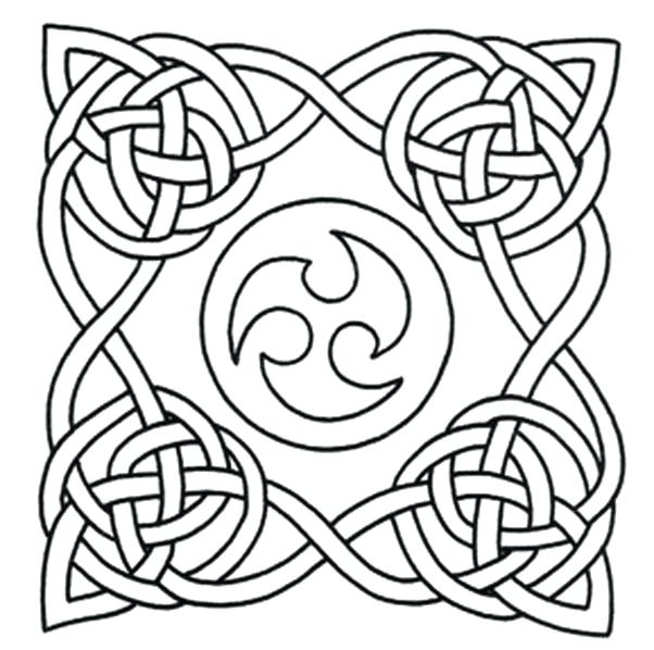 602x598 Celtic Knot Coloring Pages Printable Designs Free Printable Knot