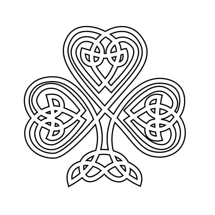 736x736 Celtic Coloring Page Knot Coloring Pages Celtic Knot Mandala