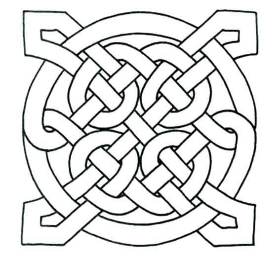 Celtic Heart Coloring Pages At Getdrawings Com Free For Personal