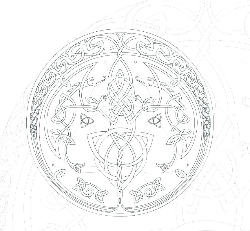 863x795 Celtic Knot Coloring Pages Coloring Page Knot Coloring Pages Free