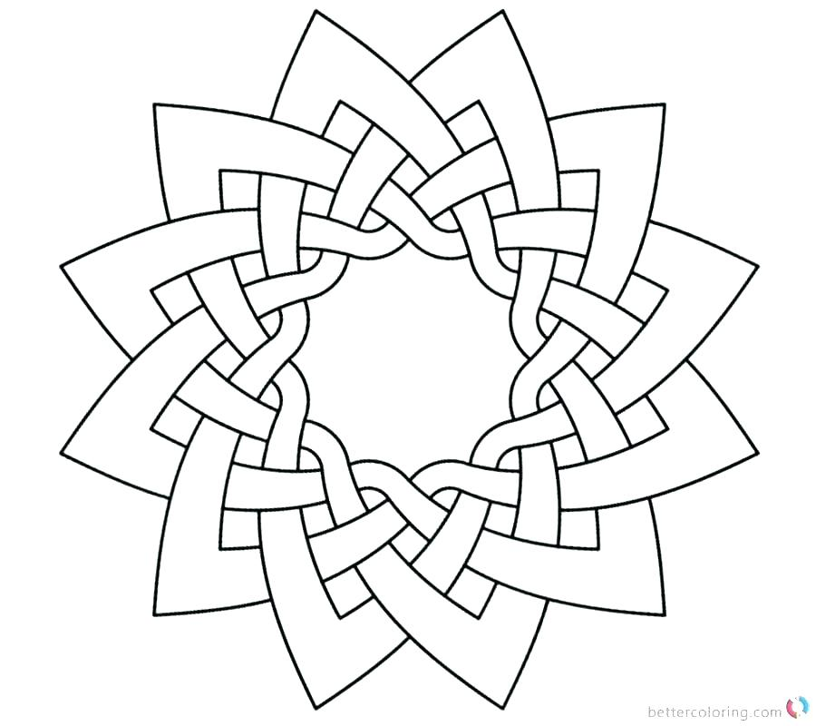 900x800 Celtic Knot Coloring Pages Knot Coloring Pages Coloring Page Knot