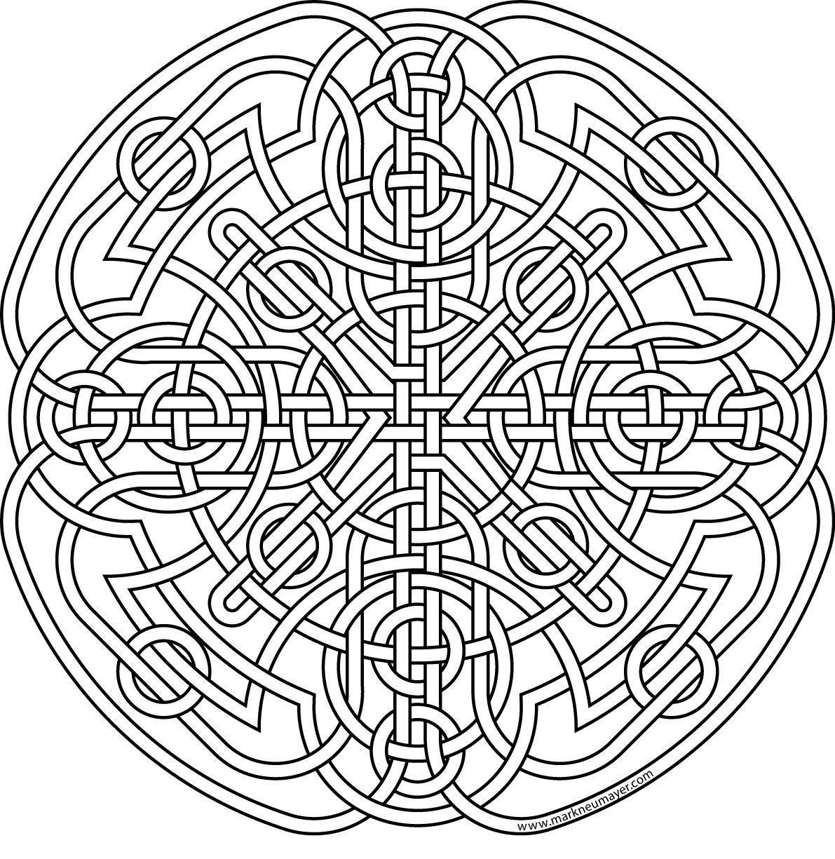 1191x1225 Celtic Knot Coloring Pages To Download And Print For Free Celta