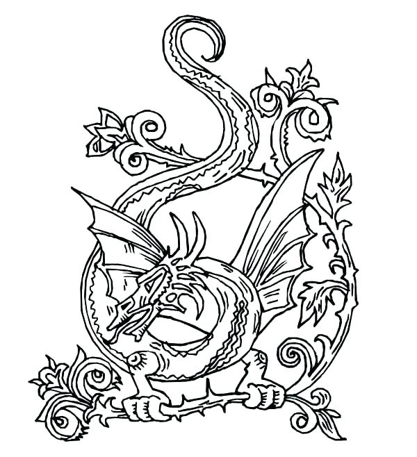 600x658 Celtic Knot Coloring Pages Printable