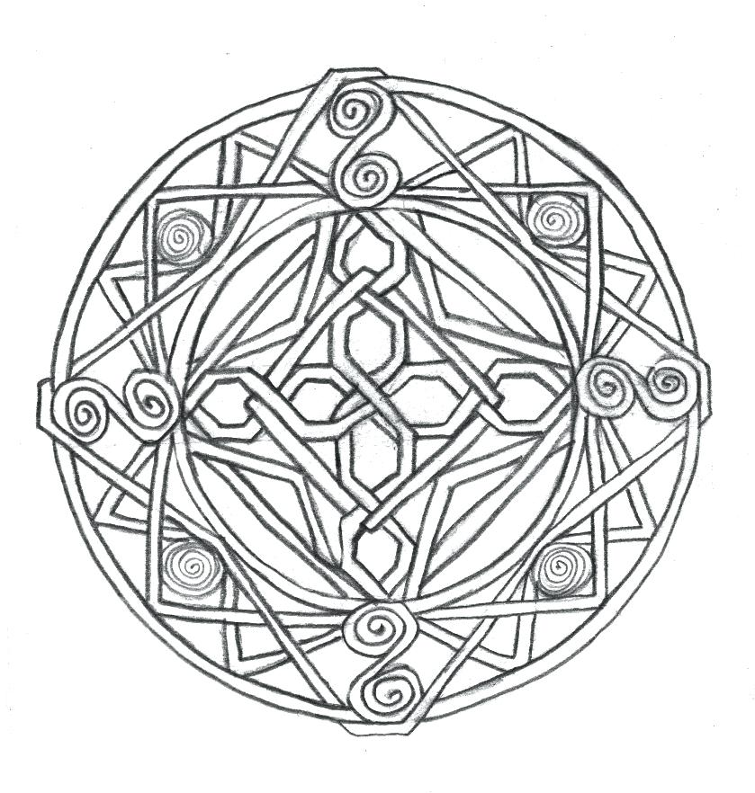839x882 Celtic Knot Coloring Pages Free Knot Coloring Pages To Print