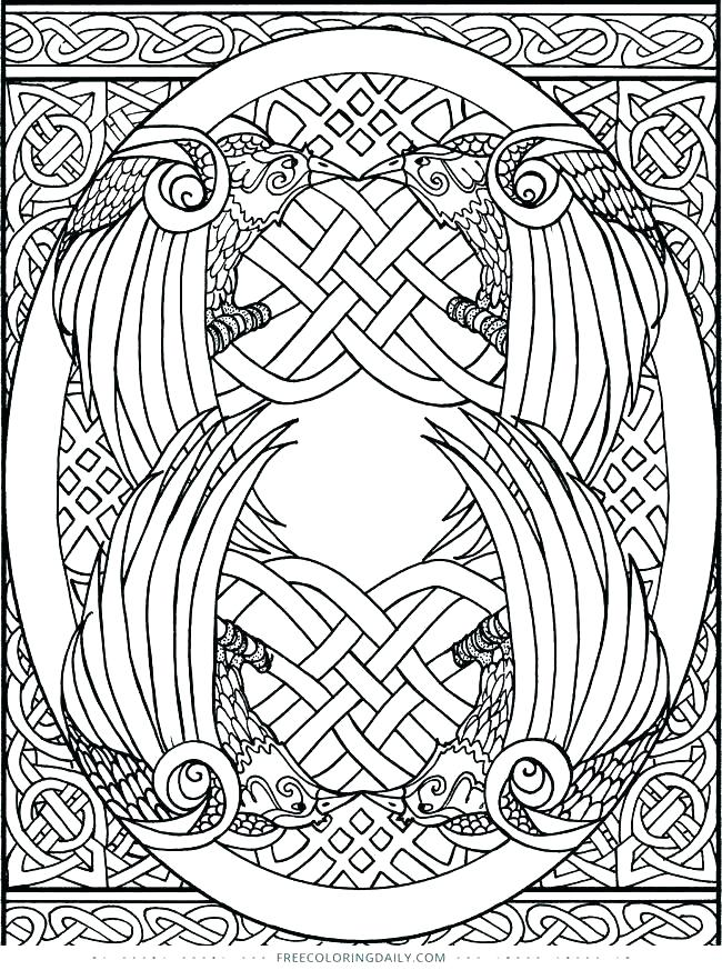 650x873 Celtic Knot Coloring Pages Knot Coloring Pages Free Best
