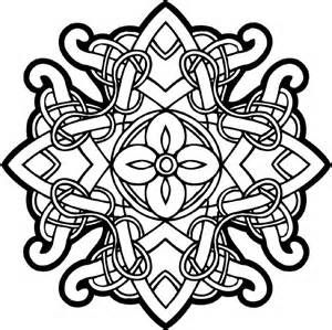 Celtic Knotwork Coloring Pages At Getdrawings Com Free For