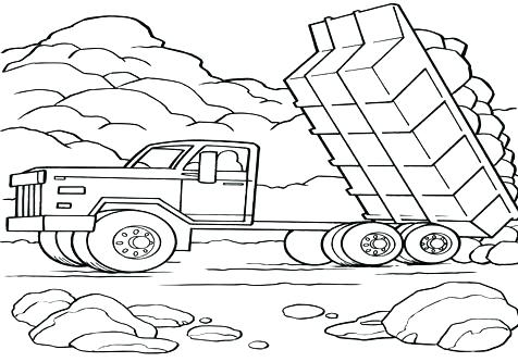 476x333 Dump Truck Coloring Page Cement Mixer Truck Cement Mixer Truck