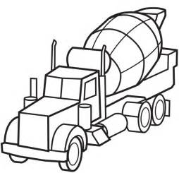 254x245 Cement Truck Colouring Pages, Cement Truck Coloring Page