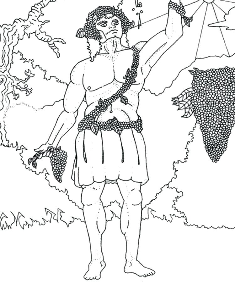 749x900 Hades Coloring Page Centaur Coloring Page For Kids Colouring Pages
