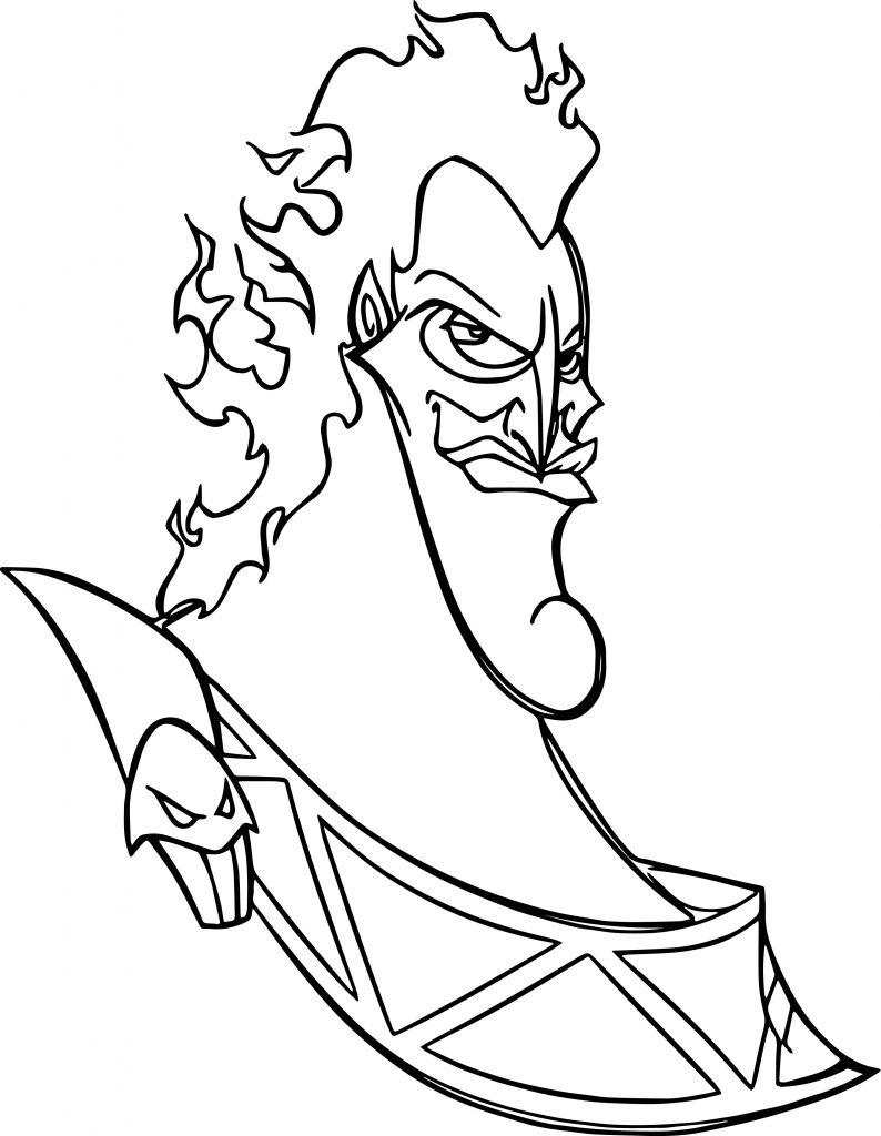 794x1024 Hades Coloring Page
