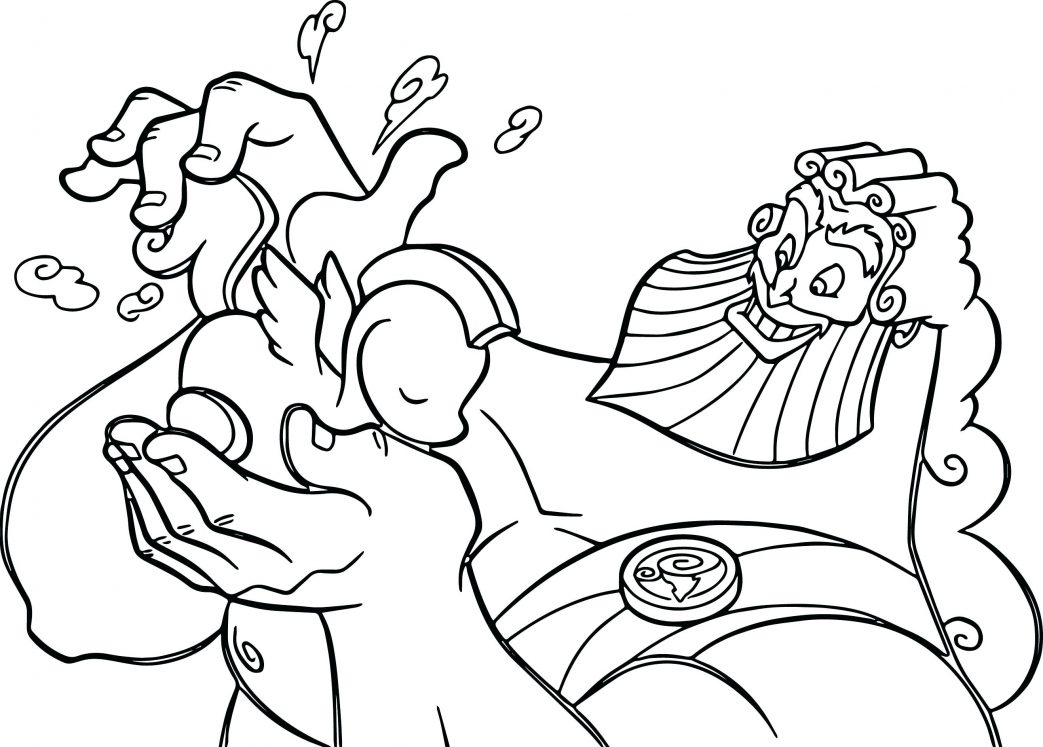 1043x747 Picture Of Hades And Cerberus Coloring Page Pages Thanksgiving