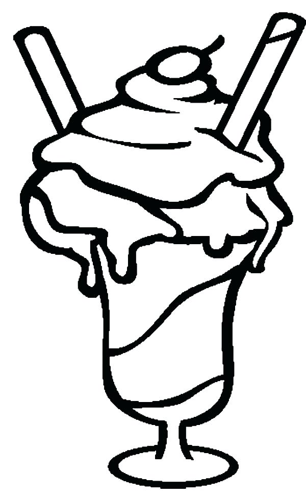 600x971 Ice Cream Bowl Coloring And Three Scoop Of Ice Cream Bowl Coloring