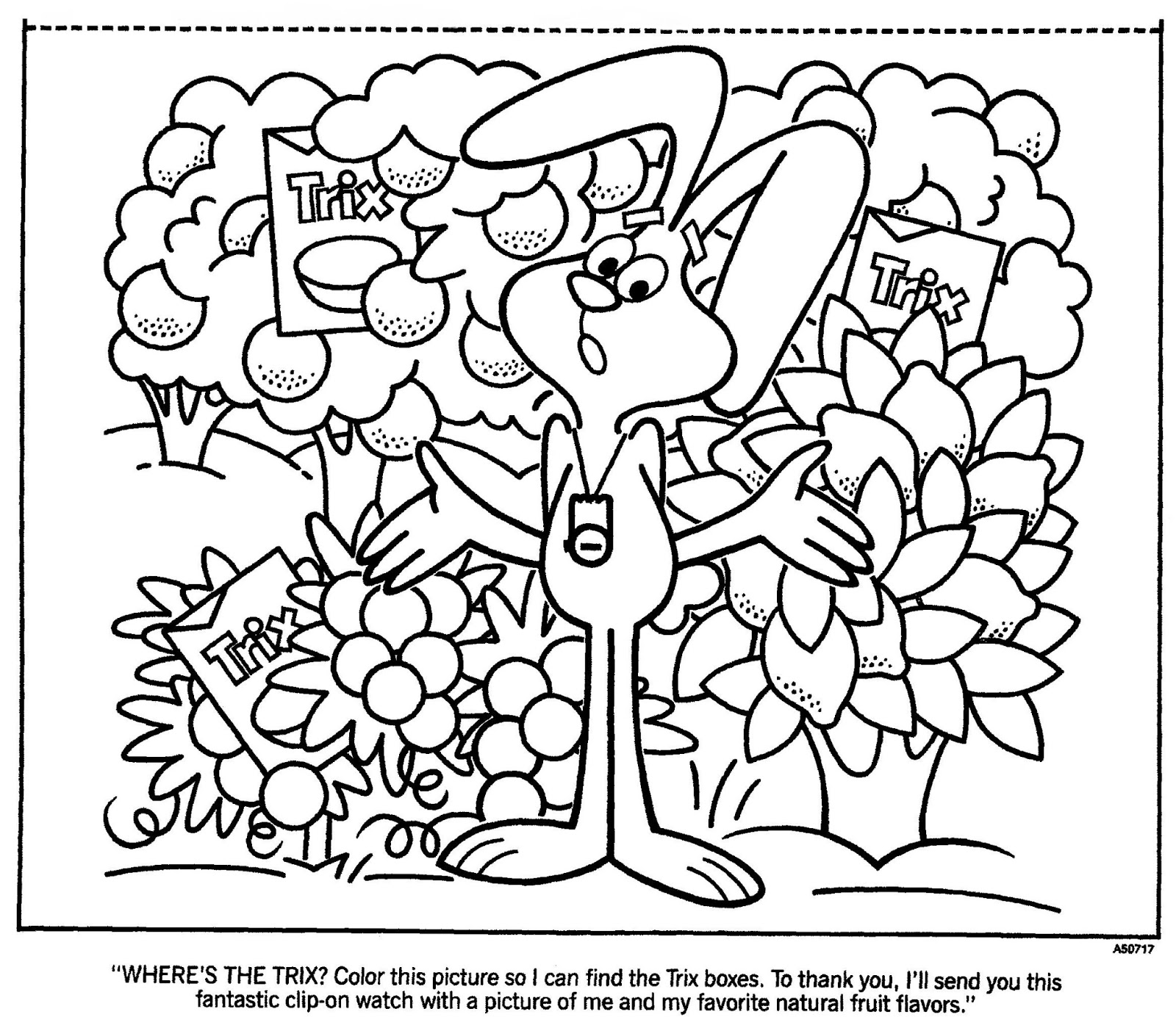 1600x1384 Cereal Coloring Pages Color This Picture So I Can, Cereal Coloring