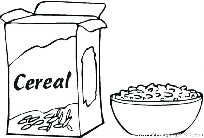 650x440 Breakfast Coloring Page Coloring Page Healthy Breakfast Colouring